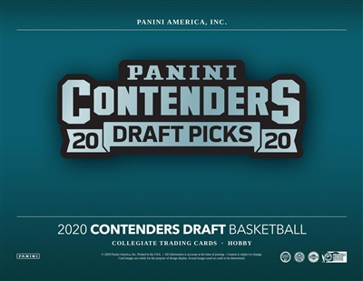 2020-21 Contenders Draft Box Break DOTD #8 (2 Letters) No Draft