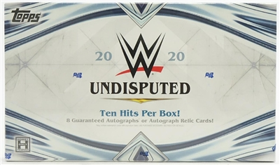 2020  Topps WWE Undisputed Box Break DOTD #3 (2 Letters) No Draft