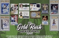 2021 Gold Rush Premier Multi Sport 6 Box Case Break 3 (1 Letter) No Draft