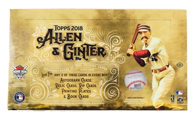 PICK A PACK 2018 Allen & Ginters