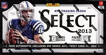 PICK A PACK 2013 Select Football
