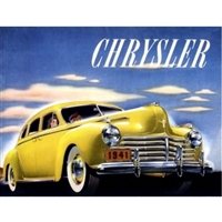 Original Sales Brochure for 1941 Chrysler