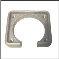 Internal electrical harness connector lower cowl retainning collar for 1958-66 Mercury 4- and 6-cyl outboards