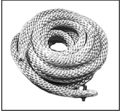 Nylon rewind starter rope for all Mercury KF9/KG9 - Mark 30/35A/40/50/55/55A/58/58A/75/78/78A and 1960-62 Merc 300/350/400/450/500/600/700/800/850/1000