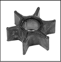 Cooling system impeller for Mercury Mark 75 - 75A - 78 - 78A and 1960-61 Merc 600 - 700 direct reversing outboards