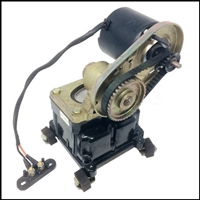 Remanufactured retro-look 6-volt bilge pump mounts remotely on a shelf in your boat's machinery compartment or under a seat