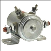 6- or 12-volt starter solenoid for antique and classic runabouts and cruisers
