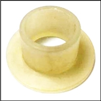 PN 23-20008 nylon bushing for the gearshift/throttle levers and magneto bracket on various Mercury outboards