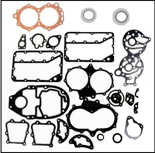 Every Gasket And Seal Needed For A Complete Tear Down Or Overhaul Of
