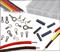Keep your antique and classic runabout or cruiser's electrical system authentic with this 168-piece wire and terminal package