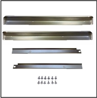 Door sill scuff plates for 1965-66 Plymouth Fury - Sport Fury; 1965-66 Dodge Monaco - Polara - 880 and 1965-66 Chrysler