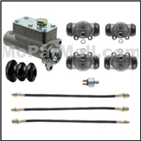 Brake Hydraulics Set for 1937-1947 Plymouth & Dodge Trucks