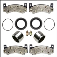 Complete caliper overhaul kit for 1970-72 Plymouth Barracuda - Belvedere - GTX - RoadRunner - Satellite and 1970-72 Dodge Challenger Charger - Coronet - SuperBee