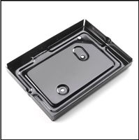 OE-style steel battery tray for all Chrysler Corp. passenger cars