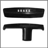 Parking brake handle for 1963-76 Plymouth Duster - Scamp - Valiant; 1964-69 Barracuda and 1963-76 Dodge Dart - Demon - Sport