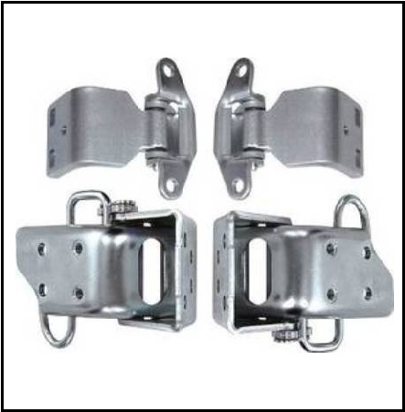 Upper And Lower Door Hinges For All Plymouth And Dodge E Body