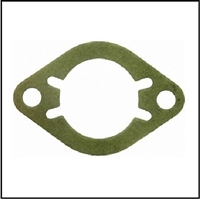 Carburetor-to-manifold gasket for all 1949-54 Plymouth; 1949-54 Dodge - DeSoto - Chrysler 6-cylinder and 1949-50 Chrysler Imperial - New Yorker - Saratoga - Town/Country