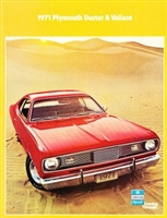 10-page showroom sales catalog for all 1971 Plymouth A-Body