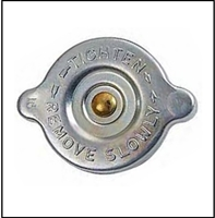 Replace that tacky auto parts store radiator cap with this new, show-quality, large-ear, original-equipment style 16 PSI cap