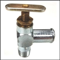 Original-equipment style manual heater water shut-off valve