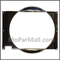 "Fan shroud for 1967-70 Plymouth Fury - Sport Fury; 1967-70 Dodge Monaco - Polara and 1967-70 Chrysler with 26"" radiator."