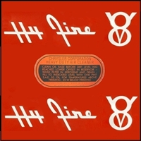 7-piece Hy-Fire air cleaner decal set for 1955-56 Plymouth V-8