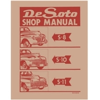 Factory Shop - Service Manual for 1941-1948 DeSoto