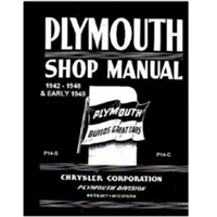 Factory Shop - Service Manual for 1942-1948 Plymouth