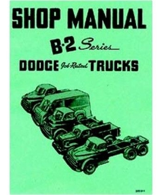 Factory Shop - Service Manual for 1950 Dodge Trucks
