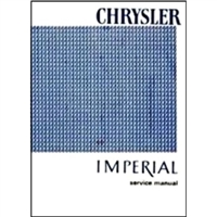 Factory Service - Shop Manual for 1966 Chrysler & Imperial
