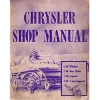Factory Shop - Service Manual for 1953 Chrysler