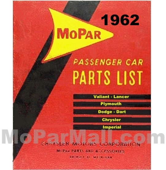 illustrated mopar parts manual for 1962 plymouth dodge chrysler rh moparmall com 1964 dodge dart parts catalog 1968 dodge dart parts catalog
