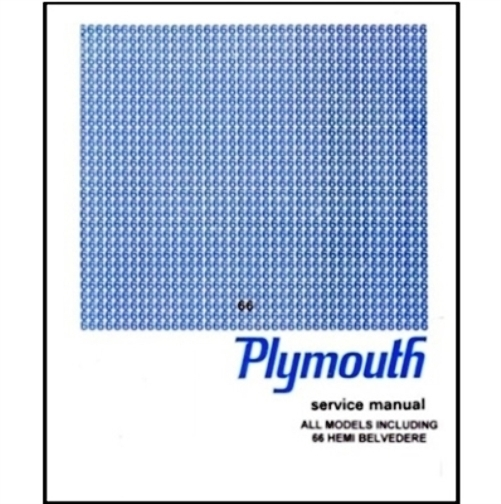 1965 plymouth shop manual on