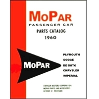 Illustrated MoPar Factory Parts Manual for 1960 Plymouth - Dart - DeSoto - Dodge - Chrysler - Imperial