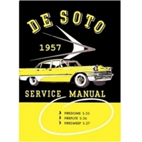 Factory Shop - Service Manual for 1957 DeSoto