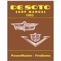 Factory Shop - Service Manual for 1953 DeSoto