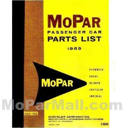 illustrated factory parts manual for 1959 plymouth dodge desoto rh moparmall com