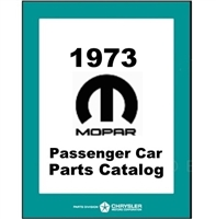 Illustrated Factory Parts Manual for 1973 Plymouth - Dodge - Chrysler - Imperial