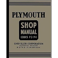 Factory Shop - Service Manual for 1937 Plymouth