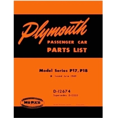 Miraculous Factory Parts Manual For 1949 Plymouth Wiring Cloud Hisonuggs Outletorg