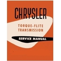 Factory Shop - Service Manual for 1956-1959 TorqueFlite Transmission