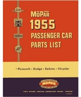 Illustrated MoPar Factory Parts Manual for 1955 Plymouth - Dodge - DeSoto - Chrysler - Imperial