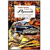 Owner's Manual for 1951-1952 Plymouth