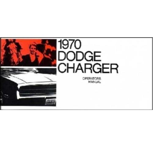Factory Owner's Manual for 1970 Dodge Charger Vintage Car & Truck ...