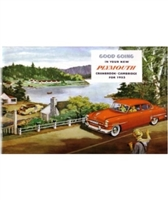 Factory Owner - Operator Manual for 1953 Plymouth