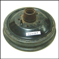 Front brake drum and hub assembly for 1946-48 Chrysler Royal - Windsor