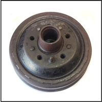 New-old-stock genuine MoPar front brake drum and hub assembly for all 1935-36 Plymouth