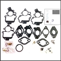 Carburetor rebuild kit for 1946-48 Chrysler Imperial - New Yorker - Saratoga - Town/Country with Carter BB carb