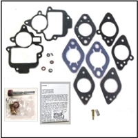 Carburetor rebuild kit for 1937-38 Plymouth P3 - P4 - P5 - P6 with Carter C6F - C6H - C6J - C6K carburetor