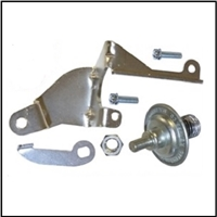 Dashpot package for the Carter AVS 4-BBL carburetor used on 1968-69 MoPar A/B-Body with 383 or 440 CID engine and manual trans